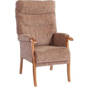 High Back Chair for Home