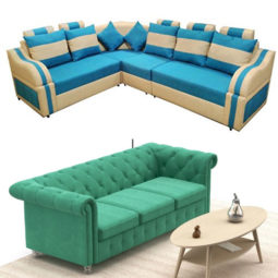 multi color sofa set for home
