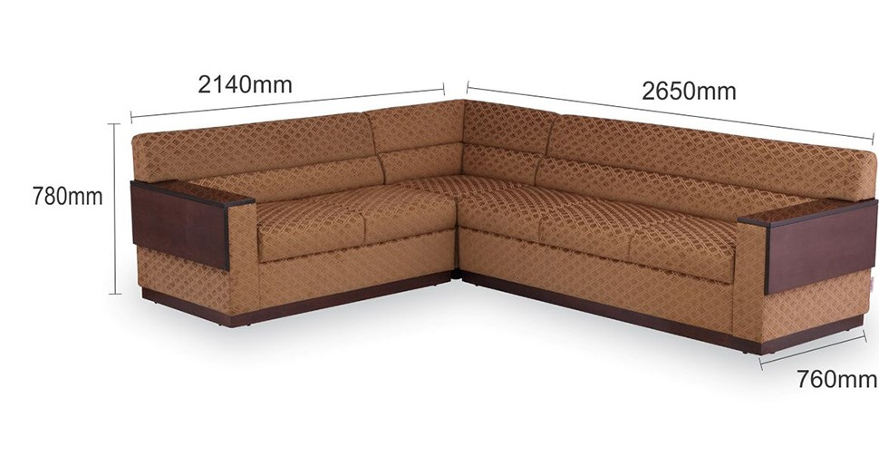 corner sofa measurement