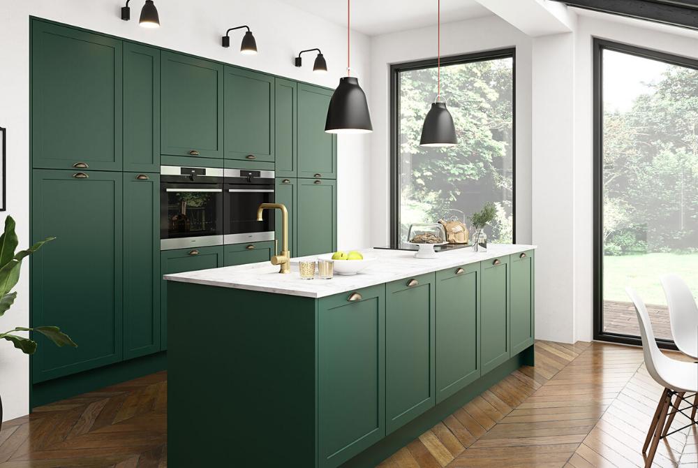Noble kitchen design portrait