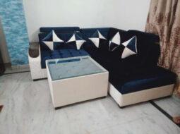 Cadetblue 5 Seater Sofa Set